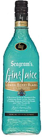 Seagram Gin and Juice Lemon Berry